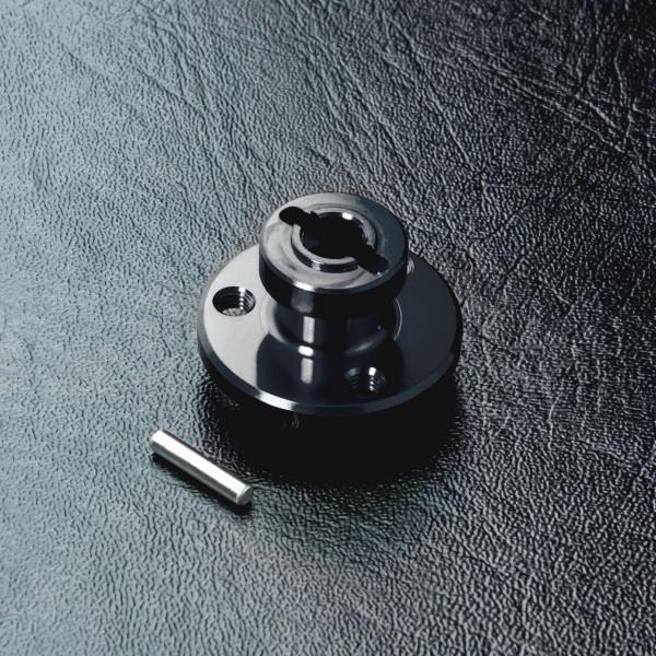 RMX Alum. spur gear holder (black)
