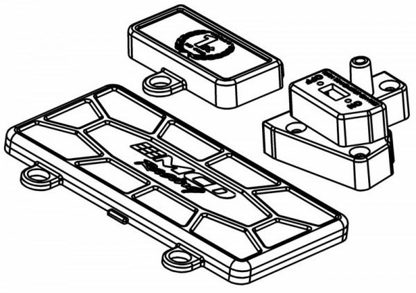 Deckel für Servo und Elektronik Platte