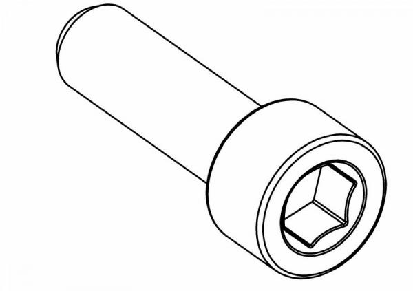 Zylinderkopf Innensechskantschraube M6x20 mm