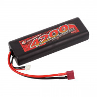 LiPo Akku 4200mAh 2S 40C T-Stecker Stick Pack
