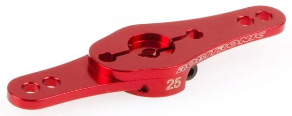 Servo Arm Alu 25Z Rot Doppelarm (2 Ebenen)