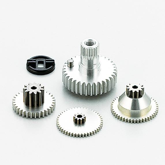 Aluminium Getriebeset für RSx Response / HC