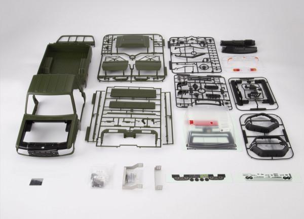 Toyota Land Cruiser 70 Bausatz Military Grün lackiert für TR
