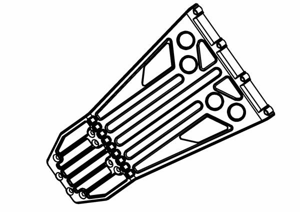 Rammer / Bumper W5 Vorne