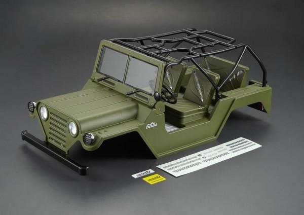 Warrior Crawler Karosserie Military Grün RTU