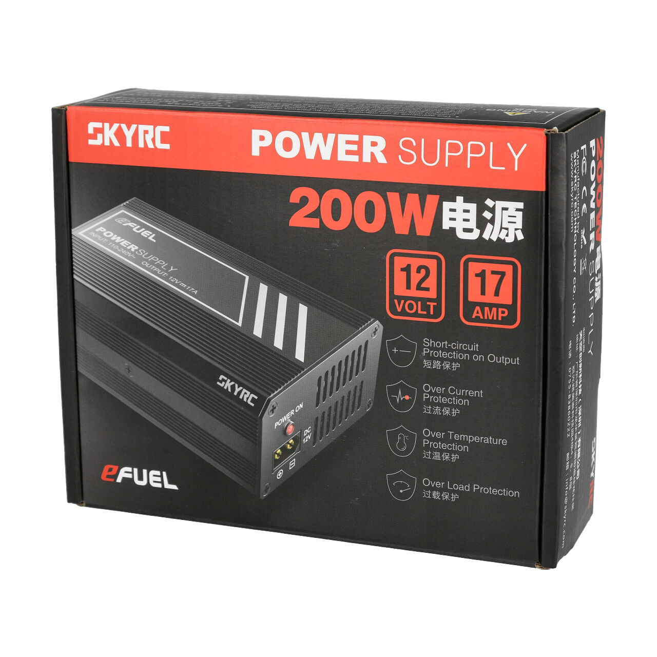 SkyRC SK200008 Netzteil 15 Volt 4 Ampere