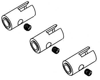 Mitnehmer für Kardanwelle 7mm (3 Stk)