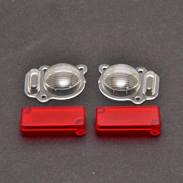 Scheinwerfer- und Rücklichtglas