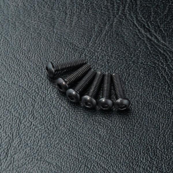 Rundkopfschraube Innensechskant M2x8mm (6 Stück)