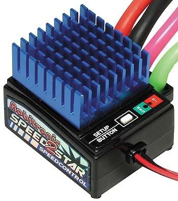 Speedstar 2 Regler F/R 8 Turn