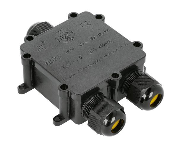 Wasserdichte Verbindungsdose 3 Anschlüße IP68