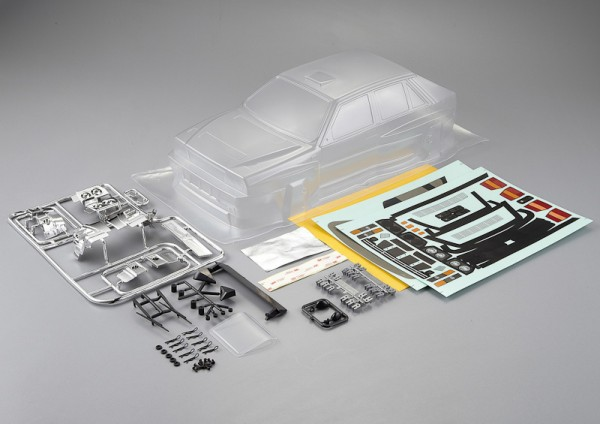 Lancia Delta HF Integrale Karosserie unlackiert 195mm Kit