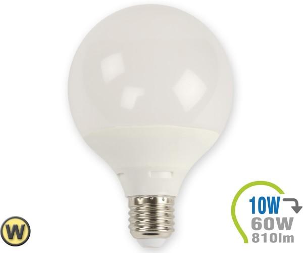 E27 LED Lampe 10W G95 Warmweiß