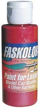 Fasescent Rot Airbrush Farbe 60ml
