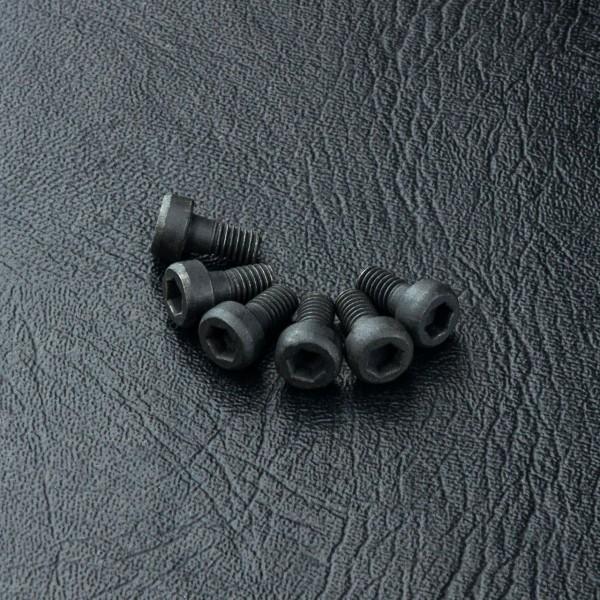 Zylinderkopfschraube Innensechskant M3x6mm (6 Stück)