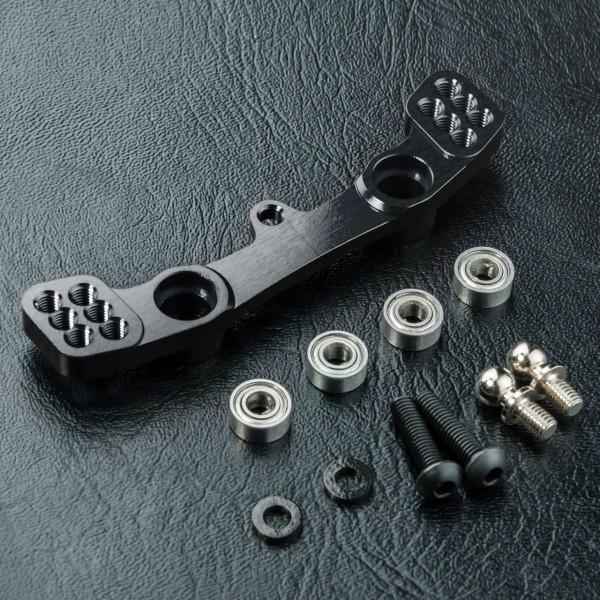 RMX 2.0 Alum. steering joint plate (black)