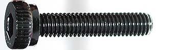 M3x15mm Zylinderkopfschraube schwarz (4)