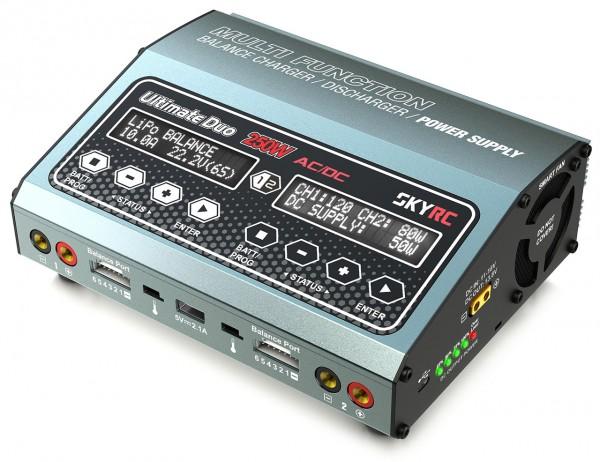D250 AC/DC Ladegerät LiPo 1-6s 10A 250W