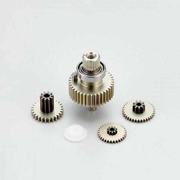 Aluminium Getriebeset für BSx2/3 one10 Response