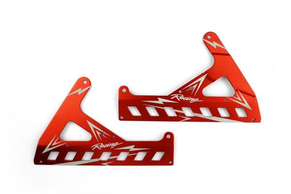 Seitenabdeckung Akku Rot für SR5 Motorrad RB-B023/24