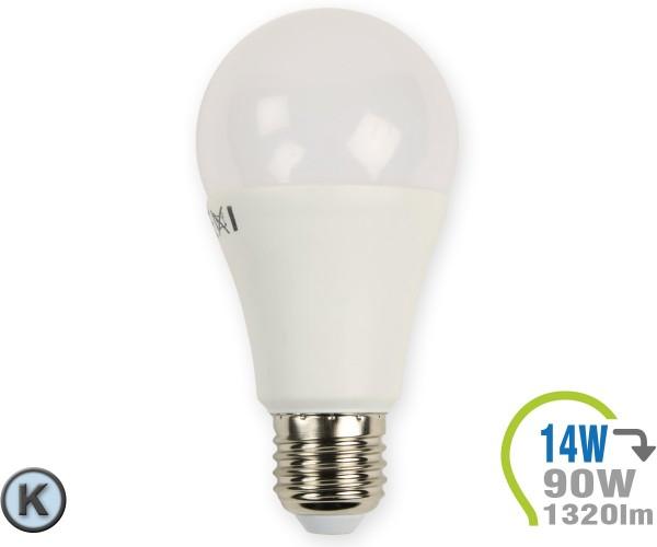 E27 LED Lampe 14W A60  Kaltweiß