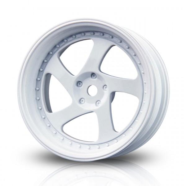 Drift Felge TMB Weiß (+5mm Offset) (4 Stück)