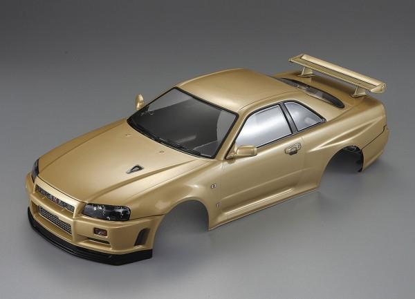 Nissan Skyline R34 Karosserie Champagner Gold 195mm RTU