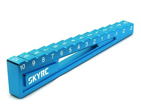 Bodenabstandslehre 3-10mm Blau