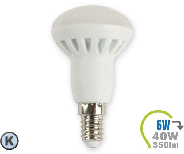 E14 LED Lampe 6W Spot R50 Kaltweiß