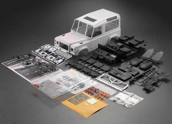 D90 Hardbody Kunststoff Bausatz