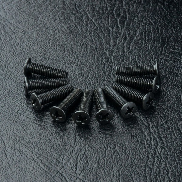 Flachkopfschraube Kreuz M3x11mm (10 Stück)