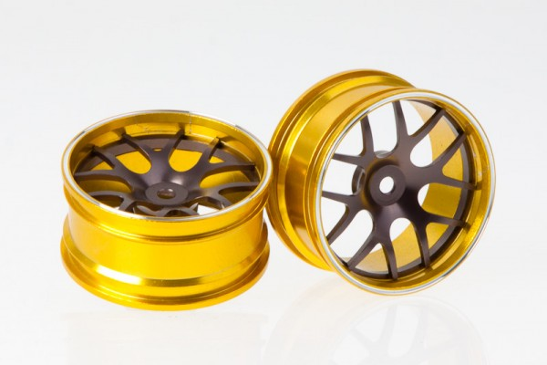 Alu Felgen Corvette GT2 Gold-Grau (2 Stk)