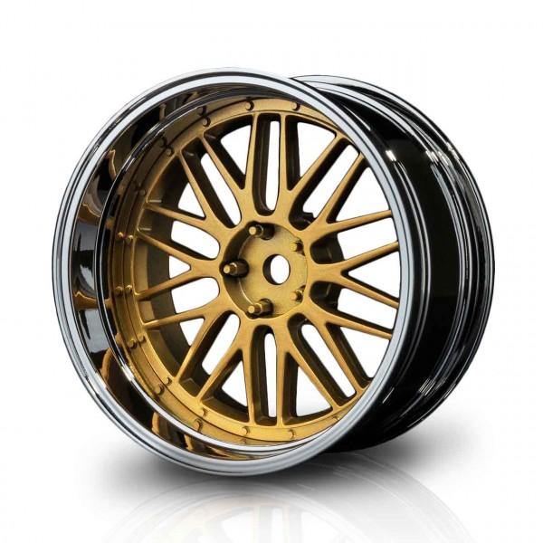 Drift Felge LM Silber-Gold Offset verstellbar (4)