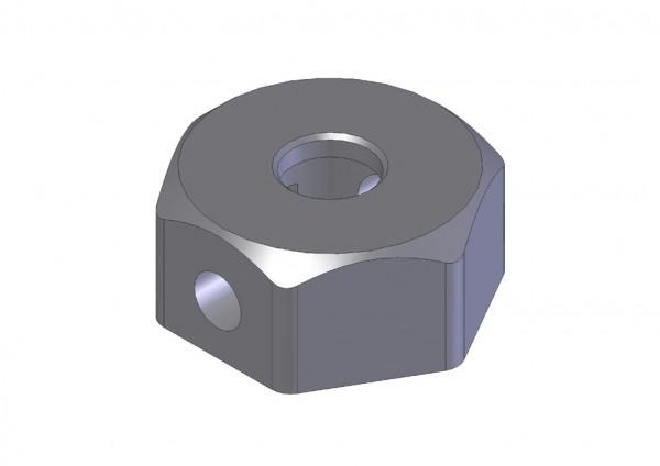 Aluminium Radmitnehmer (4 Stk.)