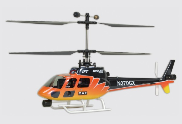 IFT Evolve 300 CX Helikopter RFR (Ready-For-Receiver)