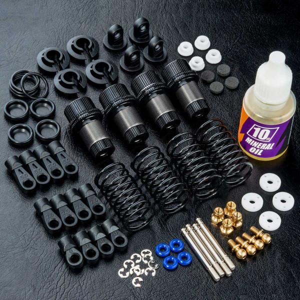 TR60 Alum. damper set (black) (4)