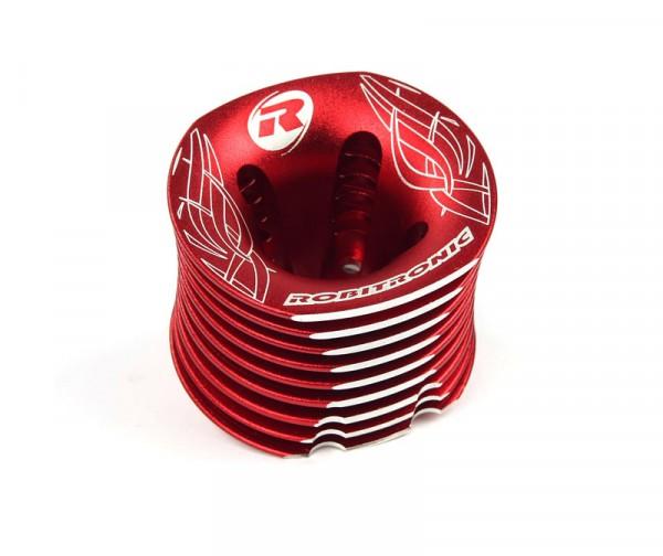 Motorkühlkopf rot / Laserdruck