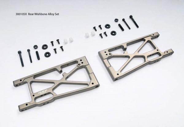 Schwingen / Querlenker Set Aluminium Hinten (Optional)