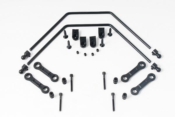 Stabilisator Set vorne/hinten 4mm komplett (1 Set)