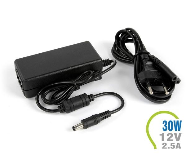 LED Netzteil 30W 12V 2.5A Kunststoff