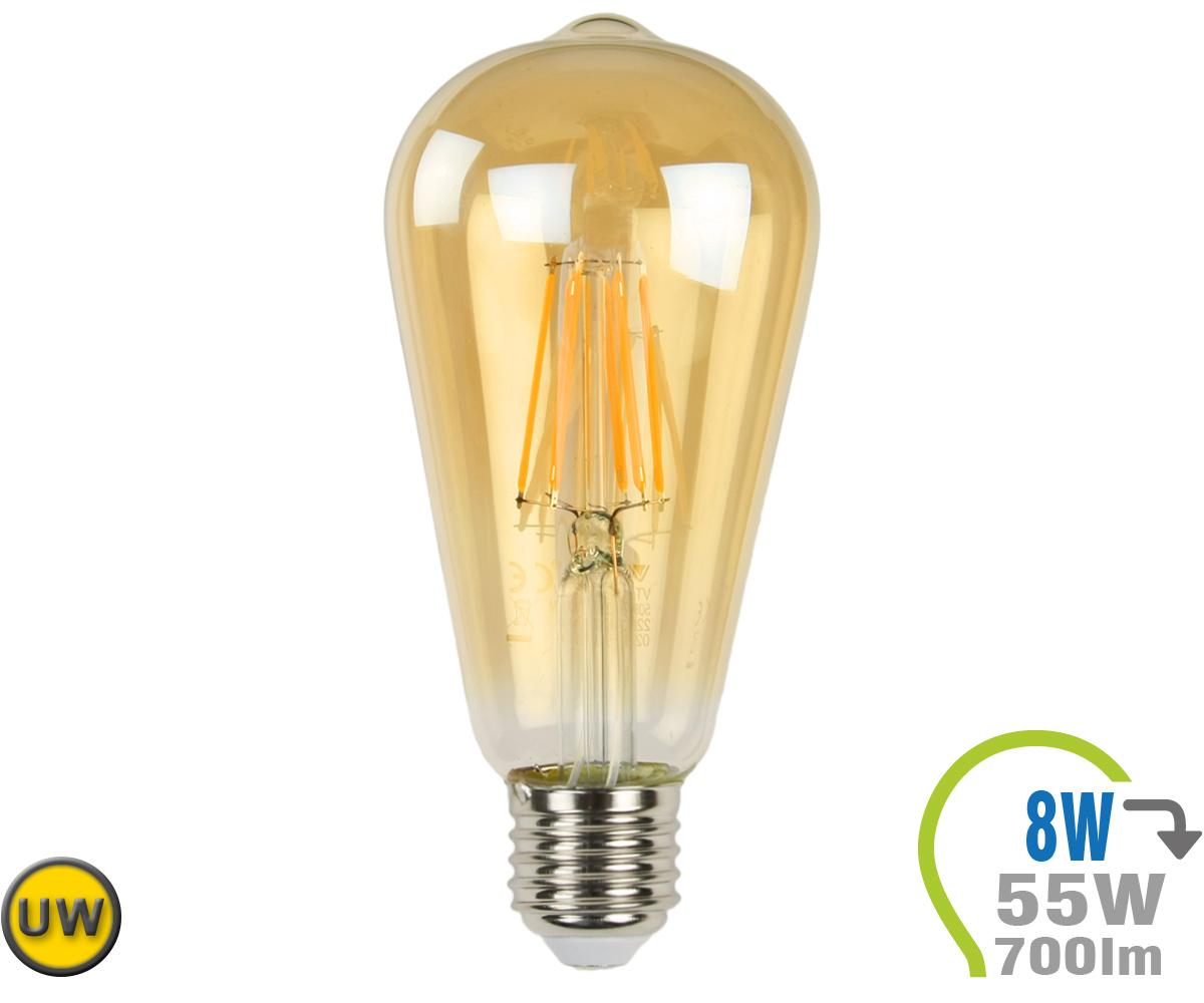 E27 Led Lampe Filament Vt 1968 4421 Pic1_0010
