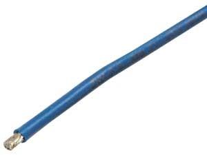 Silikonkabel 1m Blau 4,0mm2
