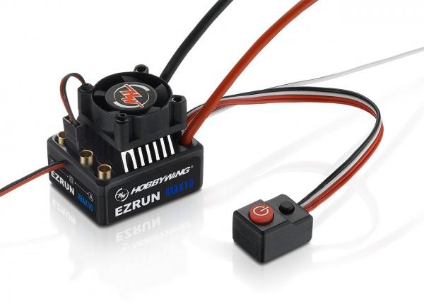 Ezrun MAX10 Regler Sensorless 60 Amp, 2-3s LiPo, BEC 3A