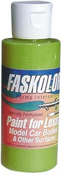 Faslucent Transparent Grün Airbrush Farbe 60ml