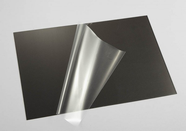 Lexan Platte Kohlefaser
