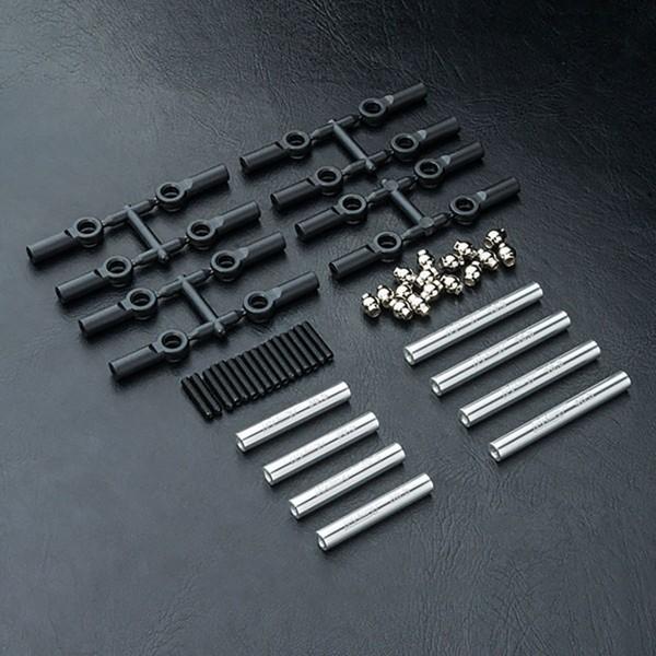 Verbindungsstange Set Alu silber 242mm CMX