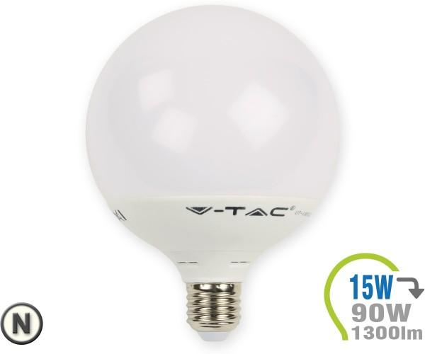 E27 LED Lampe 15W G120 Neutralweiß