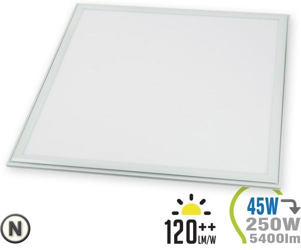 LED Panel 45W 60x60cm 5400lm inkl. Treiber Neutralweiß