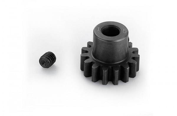 Motorritzel 15 Zähne Modul1 5mm Welle