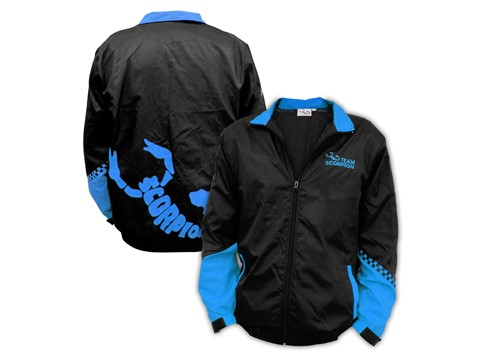 Scorpion Flying Jacket (Blue-XL)
